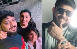 <p>Anchor midhun ramesh family</p>