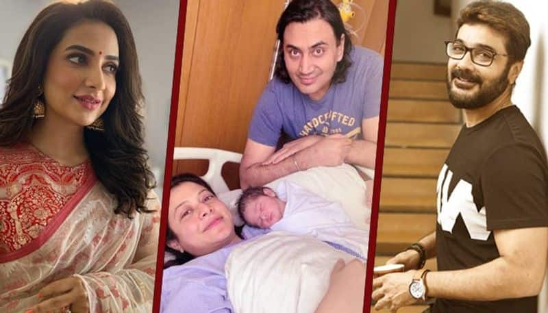 tollywood stars have all greeted to Koel mallick and her newborn