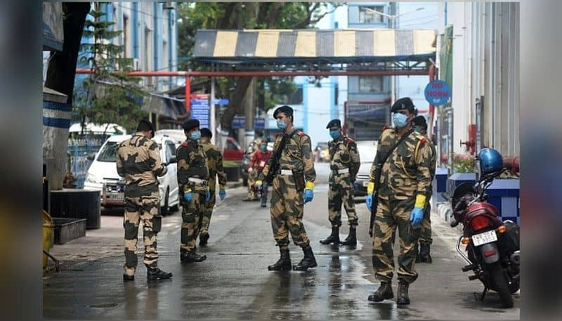 6 members of BSF in charge of central teams security infected with Covid 19