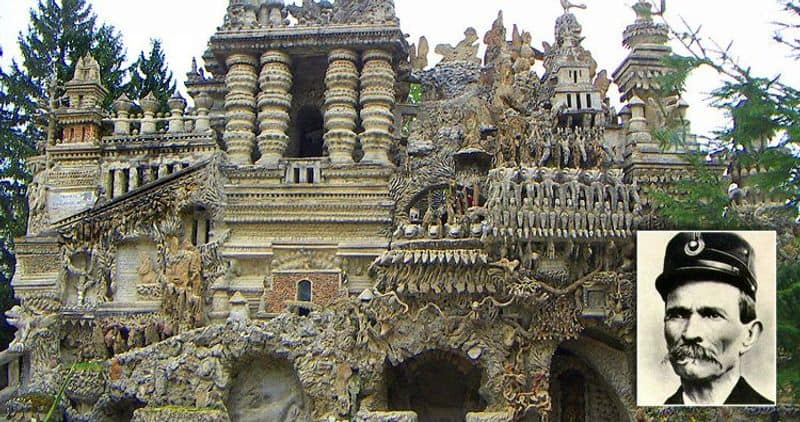 Cheval built a palace using the stones he collected