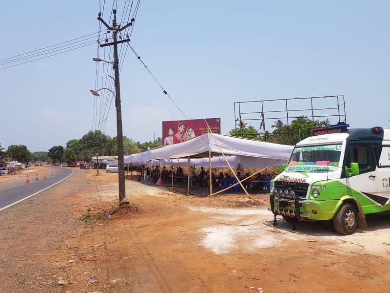 Non Covid Patients Faces Problems at Checkpost in Kalaburagi grg