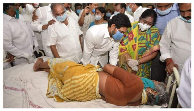 CM Jaganmohan Reddy Announces Rs 1 Cr for Kin of Deceased in Chemical Disaster