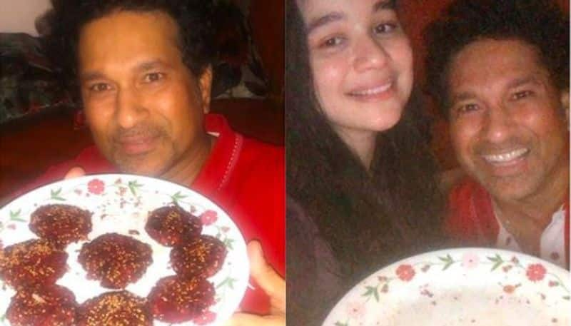 Sachin Tendulkar finished his daughter's hand-made kebab in 60 seconds