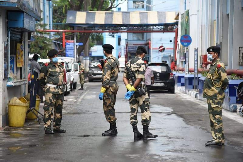One BSF Jawan has been tested Corona positive in Kolkata