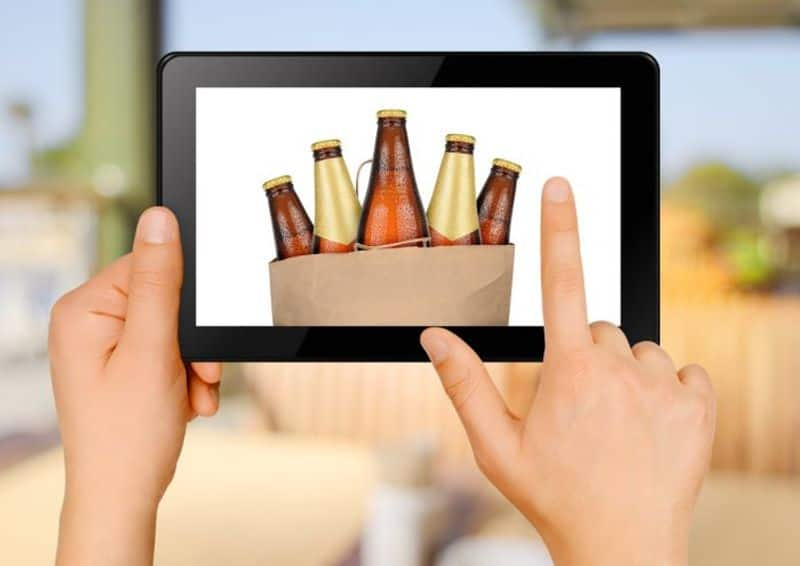 Social and health implications of the online liquor sales in the time of corona