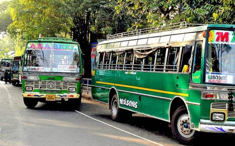 Big Crisis In Private Bus Industry In Kerala