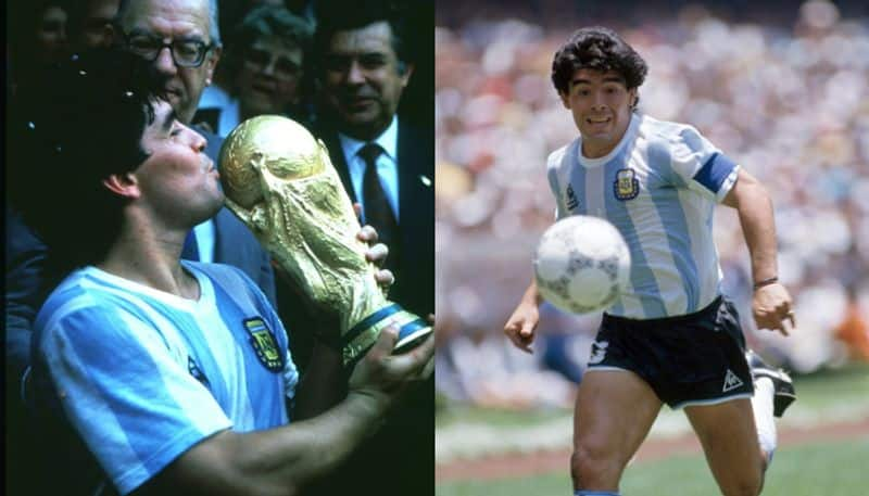 Maradona donate his 86 World Cup jersey to fight against Coronavirus