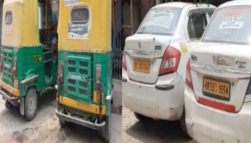 Migrant labourer reached Harishchandrapur Malda by auto and cab from Delhi