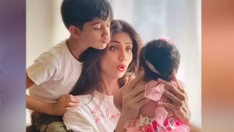 shilpa shetty shared her sons stunning video