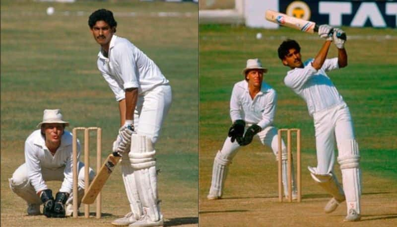 Ravi Shastri shared a picture of the first century of his career on home soil