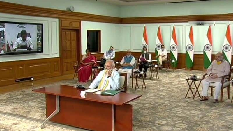 global recognition for india success of coronavirus pm says to cm meet