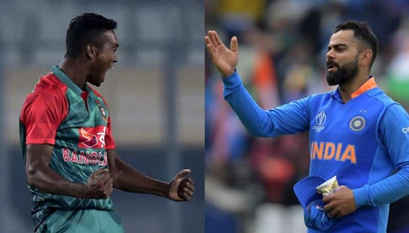 Virat Kohli abuses bowlers when they bowl a good ball to him, says Al-Amin Hossain