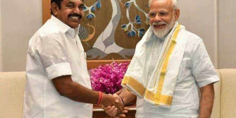 BJP alliance with Dravida Party after 20 years .. for the first time with AIADMK in the assembly elections!