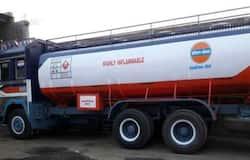 <p>petrol tanker</p>