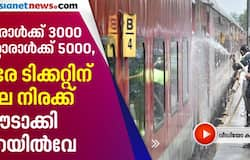 <p>railway charges different ticket rates on passenger service</p>