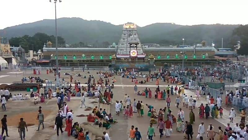 Tirupati temple fetches Rs 7 5 crore in two weeks since lockdown pulled up