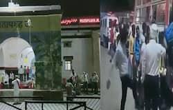 <p>उत्तर प्रदेश के प्रतापगढ़ में इंसानियत को तार-तार करने वाला एक मामला सामने आया है। महाराष्ट्र से प्रतापगढ़ आई श्रमिक एक्सप्रेस से वापस लौटे मजदूर के साथ अफसर द्वारा बेहद शर्मनाक हरकत का वीडियो सोशल मीडिया पर वायरल हो रहा है । मजदूर को बस में बैठाने के दौरान जिले के मुख्य राजस्व अधिकारी ने लात से मारा । इसका वीडियो वहां पर मौजूद मीडिया कर्मियों के कैमरे में कैद हो गया । जिसके बाद से सोशल मीडिया पर ये वीडियो खूब वायरल हो रहा है । मामले में प्रतापगढ़ के डीएम ने सफाई देते हुए घटना की निंदा की है ।</p>
