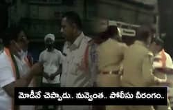 <p>Police CI Manhandled BJP Leader At Kothapet fruit market in Hyderabad<br /> &nbsp;</p>