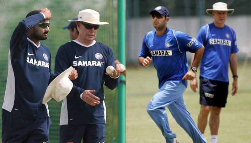 Harbhajan Singh and Yuvraj Singh attack Greg Chappell over Dhoni remarks