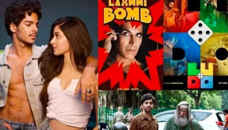 The list of Bollywood films which are going to release online