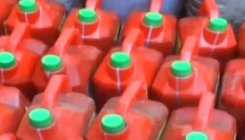 260 liter spirit seized in Idukki during Lockdown