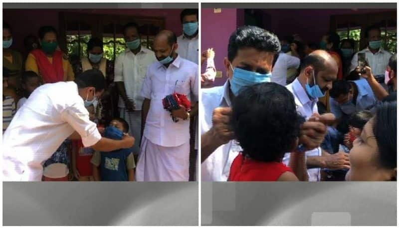 covid 19 social distancing violation in kaladi mla and others participated