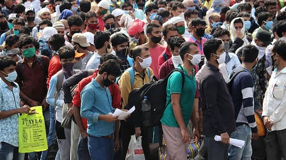 Covid 19 Out Of State Migration Continue in Bengaluru  snr