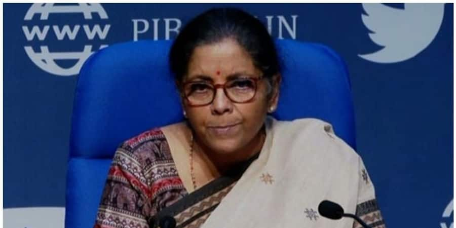 Nirmala Sitharaman on Live press conference on 20 lakh crore rupees package