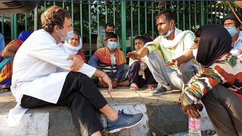 on migrant issue nirmala sitaraman critisize of sonia and rahul
