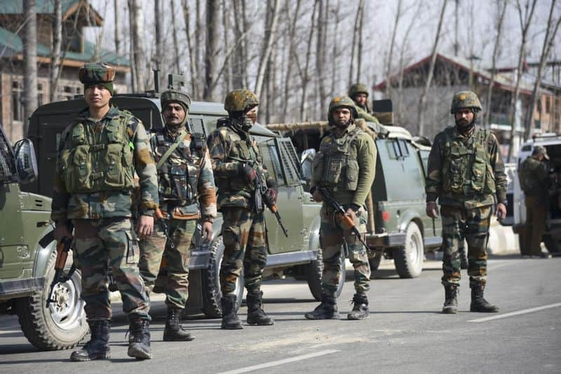 Terrorist attack on CRPF in Pulwama, Jammu and Kashmir, a soldier martyred
