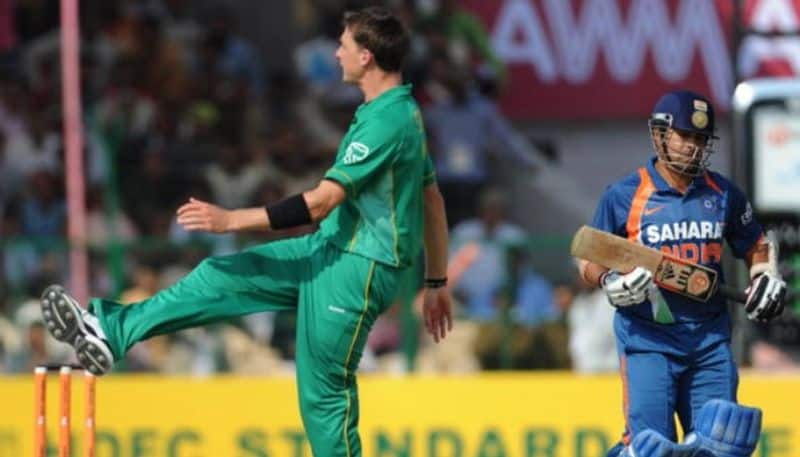 Stats Show Dale Steyn Lied About Dismissing Sachin 190s Before Scoring ODI 200