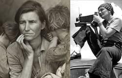 <p>migrant mother&nbsp;</p>