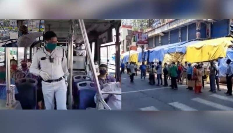Passengers faced problems due to scarcity of government buses on roads RT