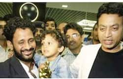 <p>Resul Pookutty and Irfan</p>