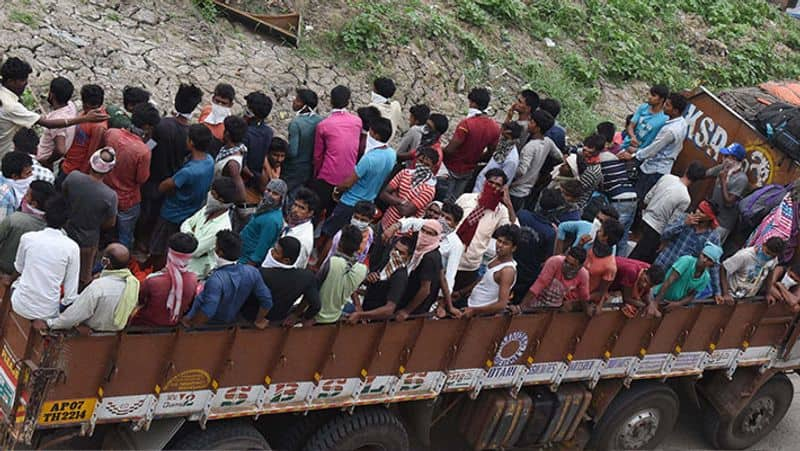 No End to Migrant Woes 3 Labourers Killed in Uttar Pradesh 4 in Maharashtra in Separate Road Mishaps