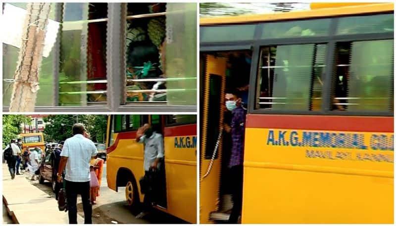 lockdown violation in kannur akg hospital
