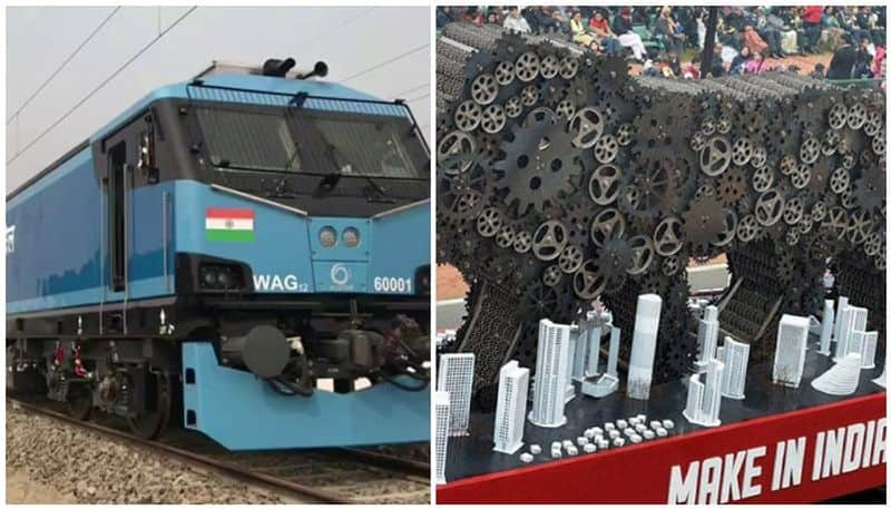 The Indian Railways has operationalised its first 12000 hp electric locomotive manufactured locally