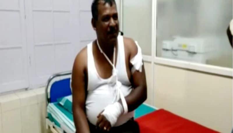 tea estate workers attacked in munnar pallivasal