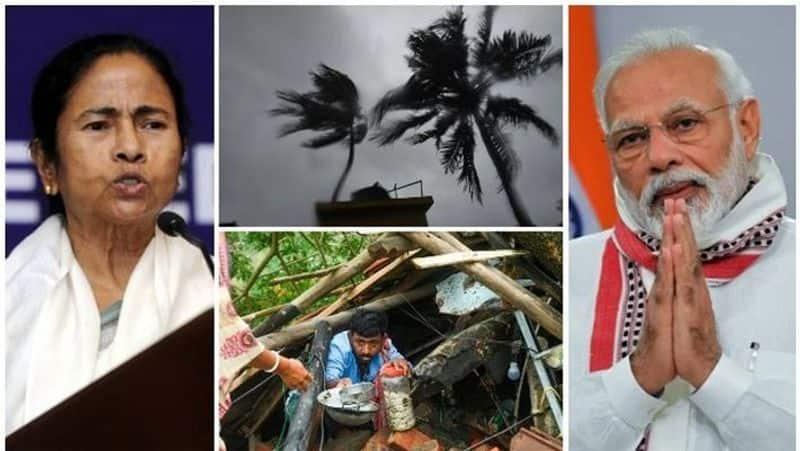 PM Narendra Modi Announces 1000 Crores Interim Relief For Bengal After Cyclone Survey