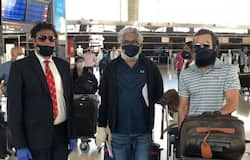 <p>Aadujeevitham crew was brought back safely to India under the Vande Bharat Mission<br /> &nbsp;</p>