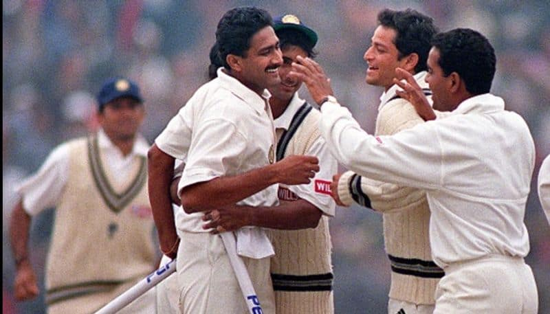 Wasim Arkam recalls how he responds to Waqar Younis Plan to Deny Kumble the 10th Wicket