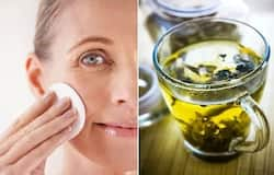 <p><strong>May Help Fight Acne:</strong> Green tea has been found to possess a polyphenolic compound EGCG (epigallocatechin-3-gallate), which is antioxidant and anti-inflammatory in nature. It may help prevent acne and other skin infections.</p>