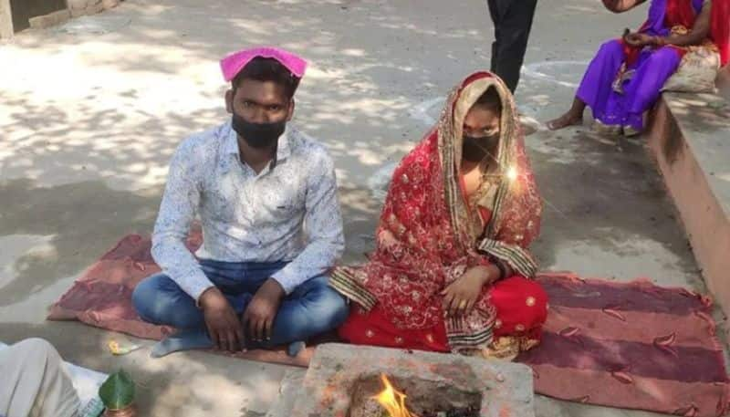 20 year old women in kanpur walk 80 kilometers alone to get married