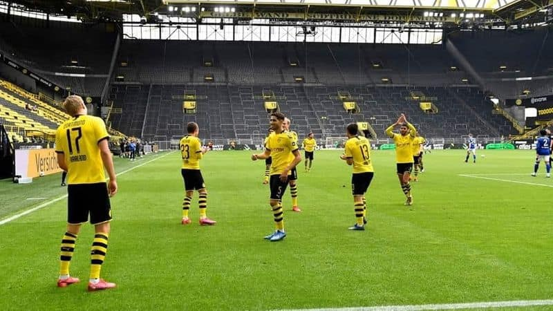 Borussia Dortmund are confident to beat SC Pedarborn and secure the 2nd spot at league table