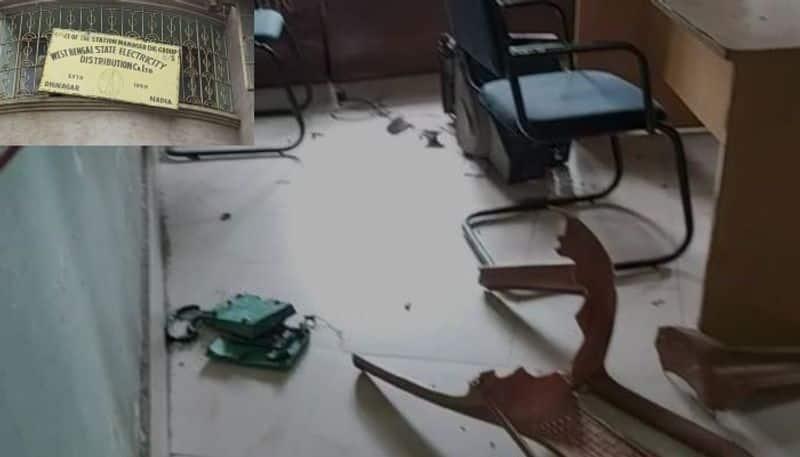 Farmer died electrocuted in Nadia