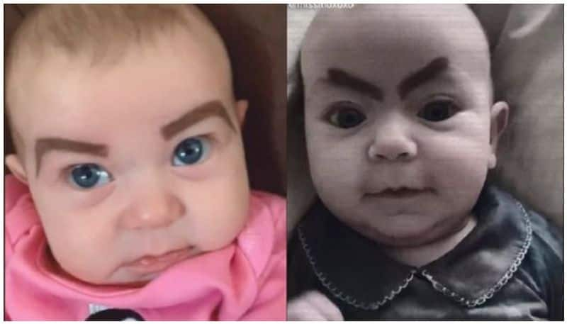 Mum gives makeover to baby girl, watch viral video