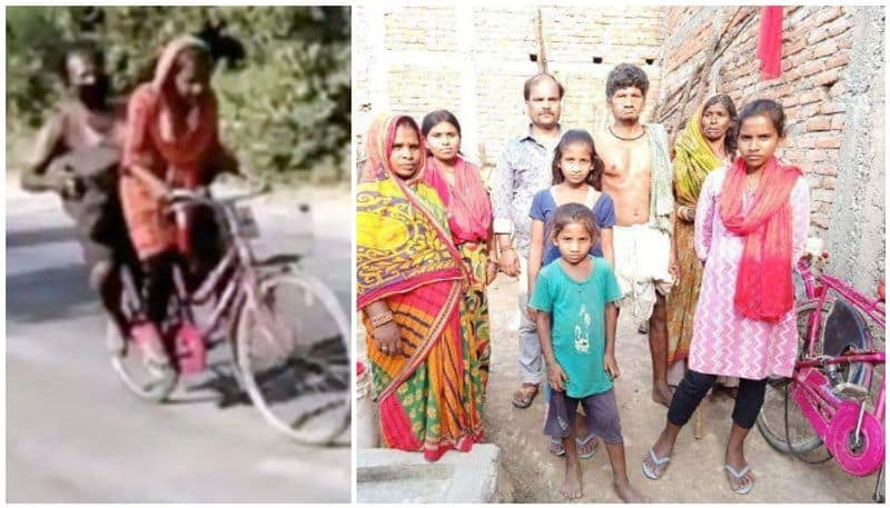 Daughters are a blessing Migrant father of teen who cycled over 1200 km to bring him home