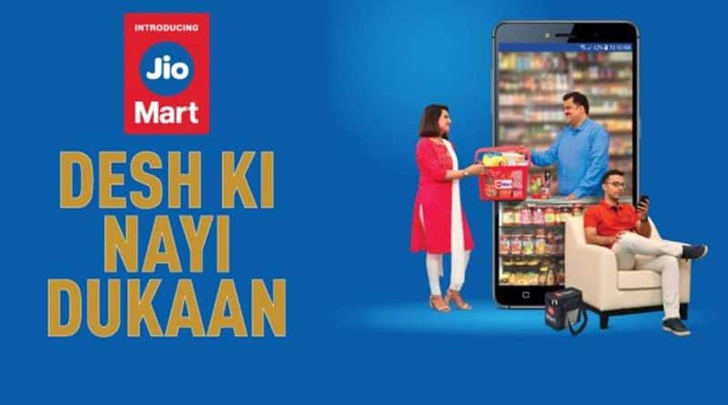 Reliance Launches JioMart Online Grocery Service