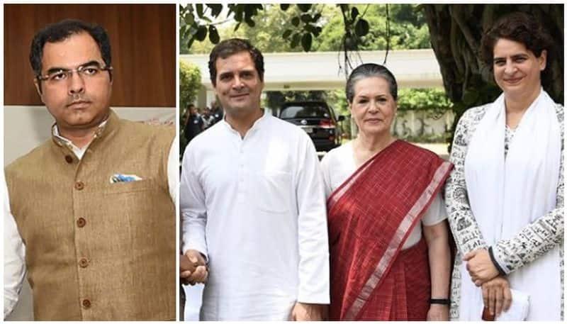 bjp mp parvesh verma controversy statement against sonia gandhi rahul priyanka
