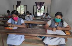 <p>Social distancing was maintained, and thermal screening was conducted to curb the spread of coronavirus in the exam centres</p>